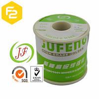 Припой 60/40 Jufeng с флюсом NC 2% [1 мм, 500грамм]