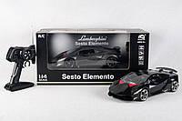 Машина легковая р/у, Lamborghini Sesto Elemento аккум., свет., в кор. 45,5*17,5*22,2см (12шт)