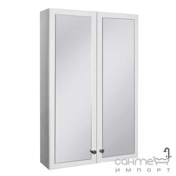 Мебель для ванных комнат и зеркала Ювента Шкаф Ювента Бриз БШНЗ1у белый (угловой)
