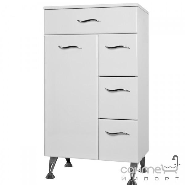 Мебель для ванных комнат и зеркала Ювента Комод Ювента Бриз БК1к белый