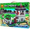 Конструктор Lele серия My World 33011 Крепость с Големом аналог Lego Майнкрафт, Minecraft