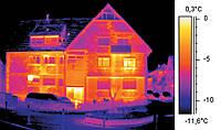 Тепловизионное обследование домов и квартир в Киеве и Киевской области