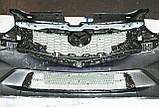Декоративно-захисна сітка радіатора Mazda CX5 фальшрадіаторная решітка, бампер, фото 10
