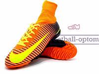 Сороконожки бампы найк Nike Mercurial с носком