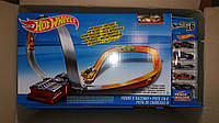 Трек Хот Вилс Восьмерка моторизированный + 6 машинок Hot Wheels Figure 8 Raceway Motorised Track Set & 6 Cars