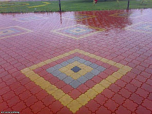 Тротуарная плитка «Клевер», фото 2