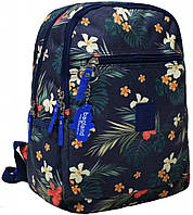 Стильный прогулочный рюкзак с цветочным принтом 13 л. Young, 00510664-f (Букеты)