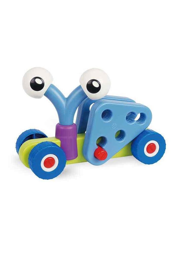 """Развивающие и обучающие игрушки «Gigo» (7262) конструктор """"Сумасшедшие машины"""""""