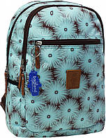 Стильный прогулочный рюкзак с цветочным принтом 13 л. Young, 00510664-flo (Хризантемы)