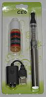 Электронная сигарета EGO CE-6, 1100 mAh жидкость в комплекте