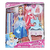 Кукла Золушка с аксессуарами Disney Princess Cinderella's Stamp 'n Design Studio
