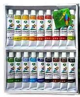 Набор акриловых красок 18 цветов