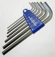Комплект угловых шестигранников LONG 2,5-10 мм
