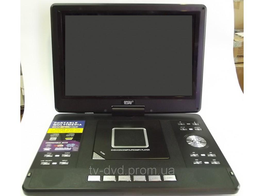 """Портативный DVD TV  USB  14""""  Opera 1760 3D"""