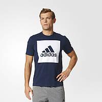 Мужская футболка Adidas Performance Essentials Box Logo (Артикул: S98726), фото 1