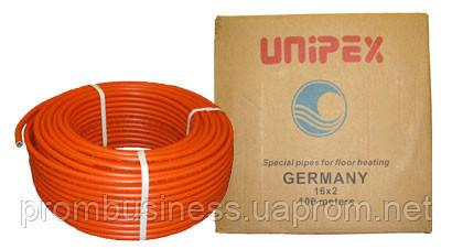 Труба для теплого пола с кислородным барьером красная 16х2,0 UNIPEX (бухта - 200м)