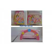 Манеж кроватка для куклы детский с постелькой Melogp 9006А