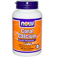 NOW Coral Calcium 1000mg 100k