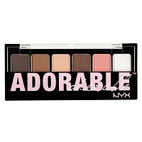 Палетка теней для век NYX The Adorable Shadow Palette