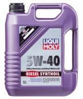 LIQUI MOLY Diesel Synthoil SAE 5W-40 5л.