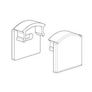 Заглушка с отверстием для профиля ЛП12 12х16мм, фото 2