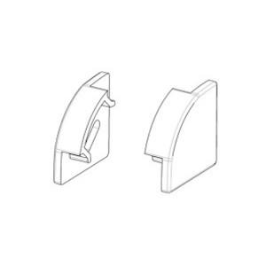 Заглушка без отверстия для углового профиля ЛП17 17х17мм