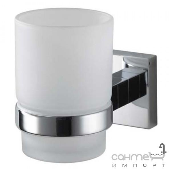 Аксессуары для ванной комнаты Haceka Стакан для зубных щеток Haceka Mezzo Chroom 403002