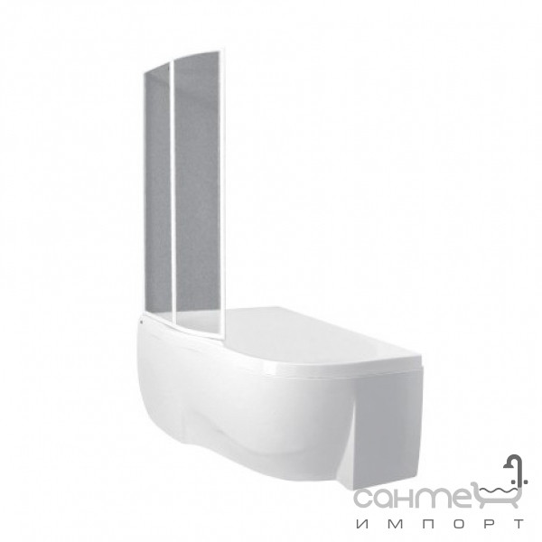 Ванны PAA Передняя панель для ванны белой, левосторонней PAA Mambo