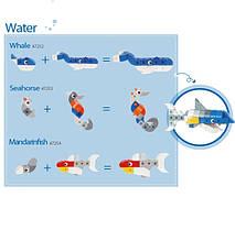 Конструктор «Gigo» (7254) У світі тварин. Рибка-мандарин, 42 елемента, фото 2