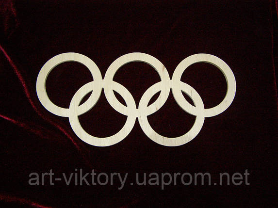 Олимпийские кольца, фото 2