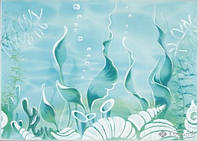 Березакерамика декор Березакерамика Лазурь Морское дно 25x35
