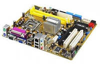 БУ Материнская плата Asus P5GZ-MX (s775, 4xSATA, 2xDDR2, VGA, 2xPCI, PCI-e x1,PCI-e x16) (P5GZ-MX)