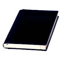 Ежедневник А5 Йорк Топ датированный, кремовый блок, синий, от 10 шт