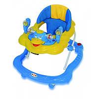 Ходунки детские голубые 6799