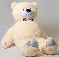 Мягкая игрушка медведь бежевый 2м