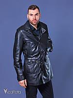 Кожаная куртка мужская 9911 LUIGI Naturel Dolce$Gabbana Siyah 48