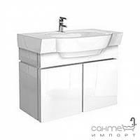 Мебель для ванных комнат и зеркала Kolo Шкафчик под умывальник 80см Kolo Varius 89071 белый