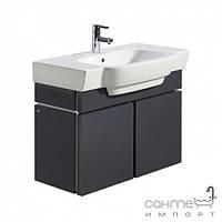 Мебель для ванных комнат и зеркала Kolo Шкафчик под умывальник 80см Kolo Varius 89125 графит