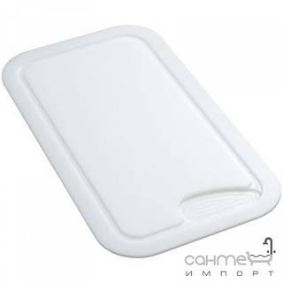 Кухонные мойки Franke Разделочная доска к кухонной мойке Franke 112.0007.537 белый пластик (459x262mm)