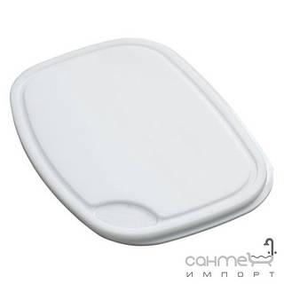 Кухонные мойки Franke Разделочная доска к кухонной мойке Franke 112.0008.436 белый пластик (420x300mm)