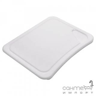 Кухонные мойки Franke Разделочная доска к кухонной мойке Franke 112.0047.832 белый пластик (450x340mm)
