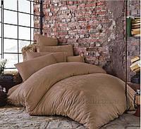 Постельное белье Issimo жаккард Bertha beige Двуспальный евро комплект