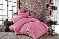 Постельное белье Issimo жаккард Bertha rose Двуспальный евро комплект