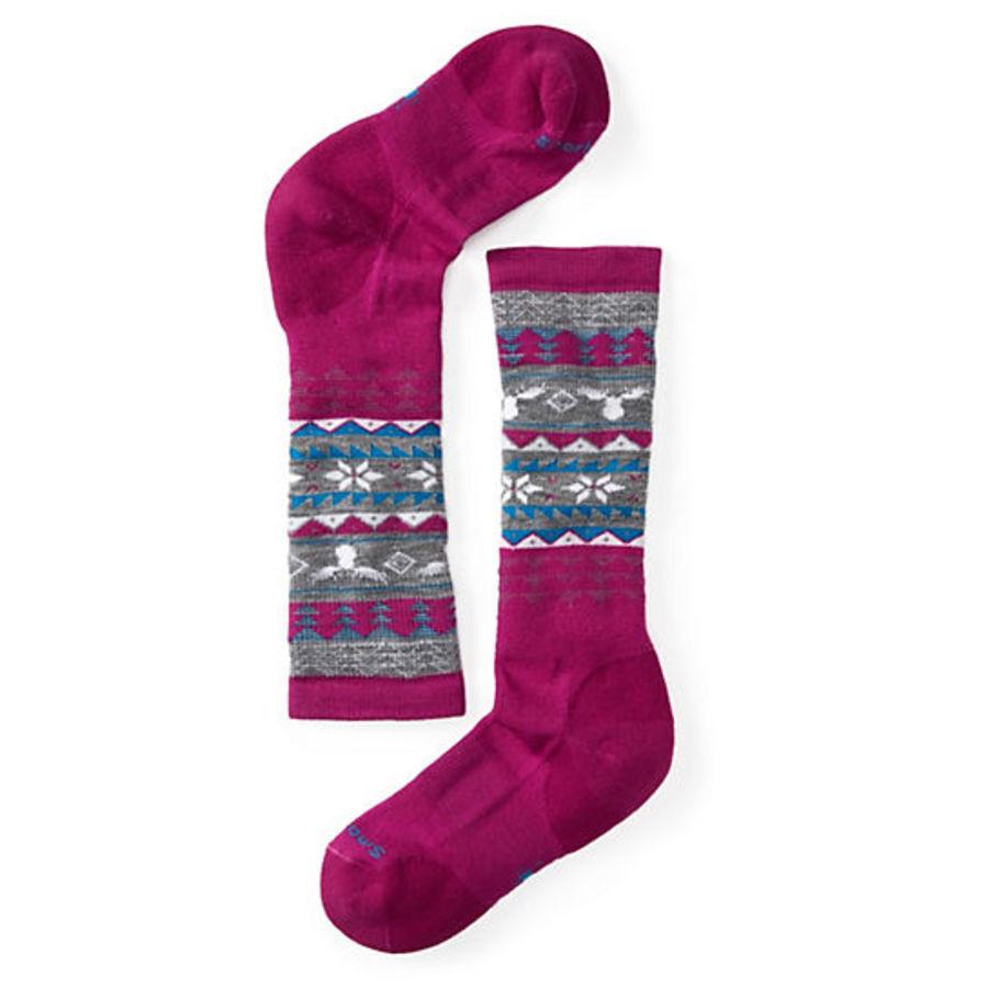 Термоноски Smartwool Girls' Wintersport Fairisle Moose Socks