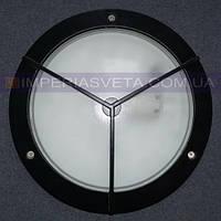 Уличный накладной светильник, влагозащищенный IMPERIA одноламповый антивандальный LUX-342641