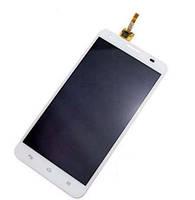 Дисплей (LCD) Huawei G750 Honor 3X с сенсором белый