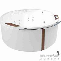Ванны PoolSpa Акриловая ванна PoolSpa Atlantyda 160 PWRD3..ZS000000 с белым каскадом