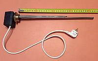 """Тэн для чугунной батареи 3000 W (нержавейка) на резьбе 1 1/4"""" (42мм) с ЦИФРОВЫМ терморегулятором DALAS 3кВт"""
