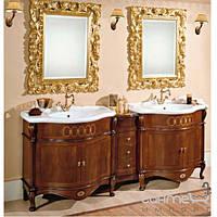 Мебель для ванных комнат и зеркала Gallo Комплект мебели двойной Gallo Giglio 210-S Noce stracciato GS-210