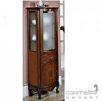 Мебель для ванных комнат и зеркала Gallo Пенал напольный Gallo Giglio Colonna Noce stracciato